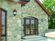 Mountcharles Sandstone Walling, Brown Sandstone walling
