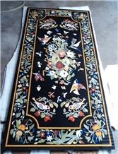 Marble Dinning Table Top, Pietre Dure Table Top