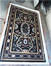 Simi Presious Stone Inlay Table Tops, Tabletop Exporter Marble Inlay Table Top Manufacturers Inlay Table