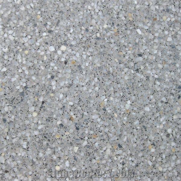 Ari Double Layer Terrazzo Tile From South Korea