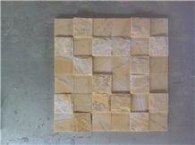 Random Panel 5x5, Split Cladding Marble
