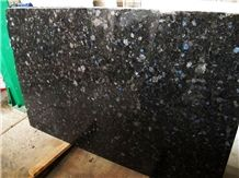 Galactic Blue Granite Tiles Slabs Volga Ukraine