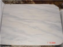 Candy White Blue Veins Marble Slabs Tile Ice Flower Panel for Wall Cladding,Floor Covering Skirting