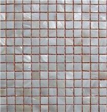 Polished White Sea Shell Mosaic, Elegant Mother Pearl Mosaic Wall Tile,Mosaic Pattern for Bathroom Design