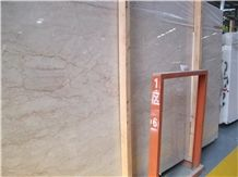 Rosa Cream Pink Marble Slabs Tiles,Machine Cut Panel for Wall Cladding Interior Stone,Hotel Lobby Floor Covering Patten