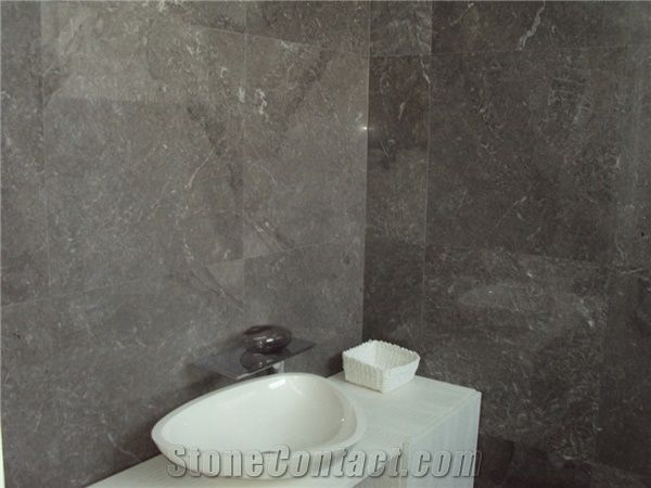 Creta Grey Marble Bathroom Wall Application Slabs Tiles