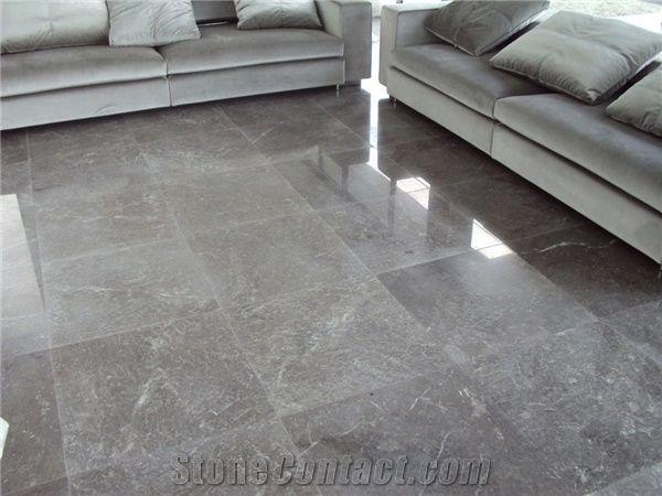 Creta Grey Marble Flooring Project From