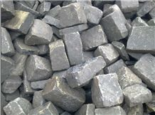 Delhi Grey Sandstone Cubestone, Cobbles