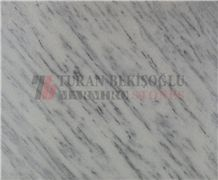 Zebrina Marble Slabs & Tiles, Turkey White Marble