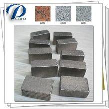 Circular Saw Blade Cutting Part Stone Diamond Segment Cutting Stone Block Machine