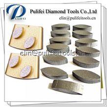 Diamond Concrete Grinding Segment for Htc Grinder Lavina Polisher