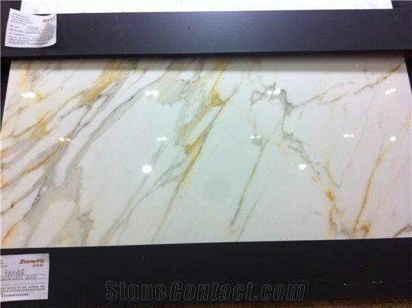 Marble Calacatta Gold Slab Calcutta Gold White Marble