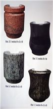 Bucaros&Jardineras Vases, Vases Granite