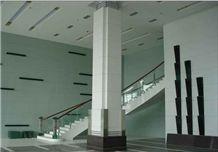 Nanchang Montary Custom Crystallized Glass Stone Column