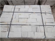 Gneiss White Cutted Tiles, Bulgaria White Gneiss
