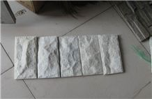 China White Quartzite Ledgestone, Veneer Stone
