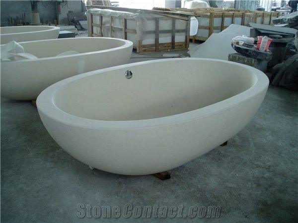 china white sandstone bathtubs,china white sandstone bath tub