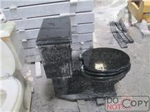 Shanxi Black Granite Toilet, Granite Toilets