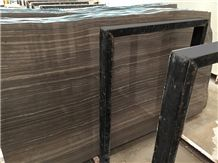 Brown Marble Eramosa Wood Marble Manufacturer Slabs & Tiles, Tobacco Brown Marble Tiles
