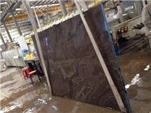 Eramosa Wood Marble Brown Marble Slabs & Tiles, Tobacco Brown Marble Slabs & Tiles