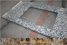 Sea Wave White Cheap Granite Vanity Countertops