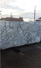 Arabescato Corchia Marble Blocks, Italy White Marble