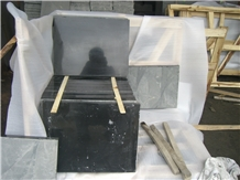 Mogolia Black Basalt Honed Slabs