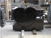 Absolute Black Granite Monuments Stone