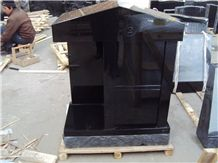 China Polished Shanxi Black Granite Tombstones & Monuments