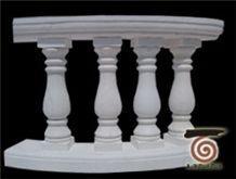 China White Marble Balustrade