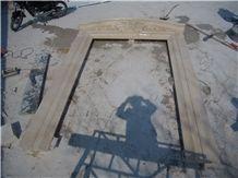 Egyptian Beige Marble Door Surround