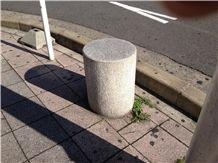 Block Seat Stone, G359 White Granite Bench & Table