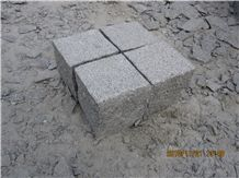 G341 Granite Bush Hammered Cubes