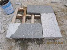 G341 Granite Bush Hammered Slab B.H.