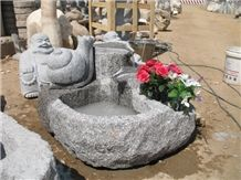 G341 Granite Garden Pools Sculpture & Statue