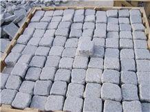 G341 Granite Tumbled Cube Stone