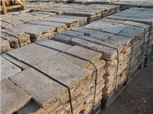 Antique Dalle De Bourgogne French Limestone, Antique French Limestone Flooring