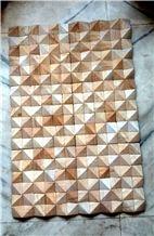 3d Wall Cladding Tiles Teakwood Sandstone