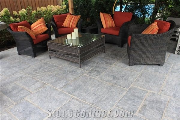 Cambridge Limestone Terrace Pavers from United States