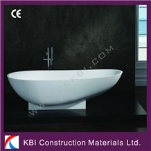 Freedstanding Solid Surface Acrylic Bathtub