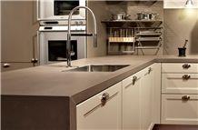 Quartz Stone Various Colors Kitchen Countertop in Custom Design