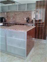 Granite Kitchen Worktop - Ivory Brown