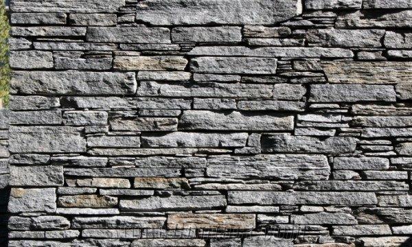 Gibbston Schist Stone Masonry Dry Wall From New Zealand