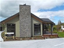 Kaimai Schist Chimney Wall Cladding