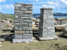 Paradise Stone Ashlar Dry-Stack Wall