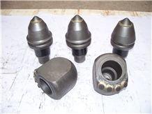 Round Shank Cutter Bits - Conical Shank Bits - Conical Cutter Bit - Rotary Cutting Bits