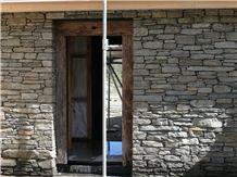 Gibbston Grey Schist Stone Entrance Way