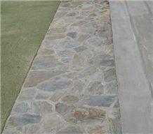 Wanaka Schist Walkway Pavers, Patio Flagstone Pavers