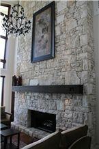 Wanaka Schist Fireplace Surround
