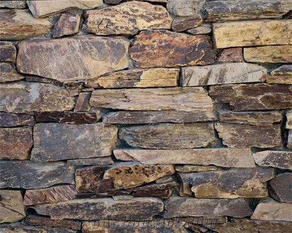 Michael Thronson Masonry Thin Stone Veneer Projects And: Sedona Brown Schist Thin Veneer, Sedona Brown Schist